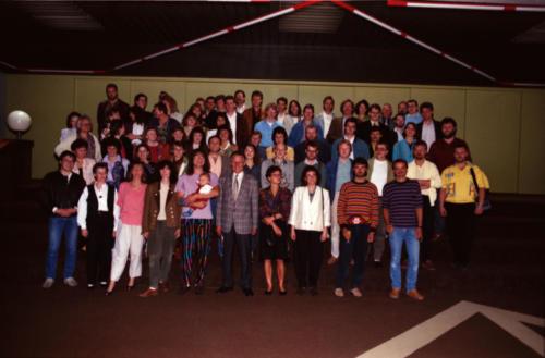 10 Jahre Abitur - Treffen 1990